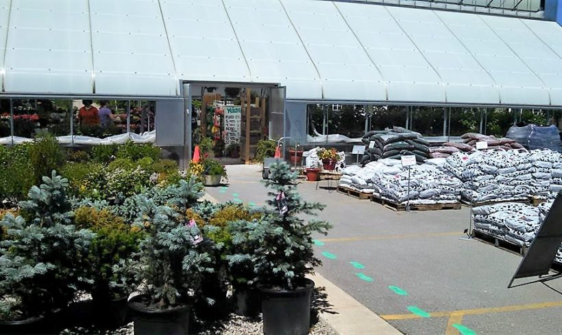 The Green House is Open!
